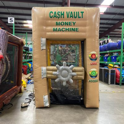 Inflatable Money Machine Cash Cube Booth Rental Cincinnati Ohio