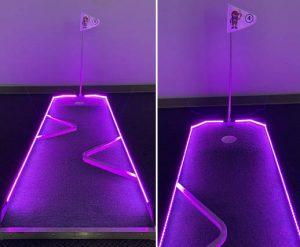 Monster Golf_Halloween Theme Glow LED Miniature Golf_Rental Cincinnati