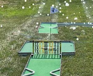 Monster Golf_Halloween Theme Miniature Golf With Fog Bubble Machine_Rental Cincinnati