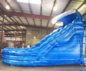 Monster Wave Dual Lane Inflatable Water Slide Rental Cincinnati Ohio