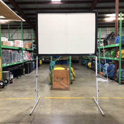 Portable Frame Movie Screen Rental Cincinnati Ohio