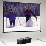 Movie Screen 12' Frame Rental Cincinnati Ohio
