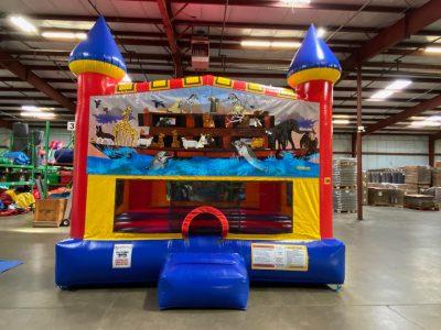 Noah's Ark Custom Castle Bounce House Renal Cincinnati Ohio