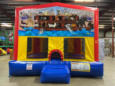 Noah's Ark Playhouse - Customize-able Inflatable Bounce House Rental Cincinnati Ohio