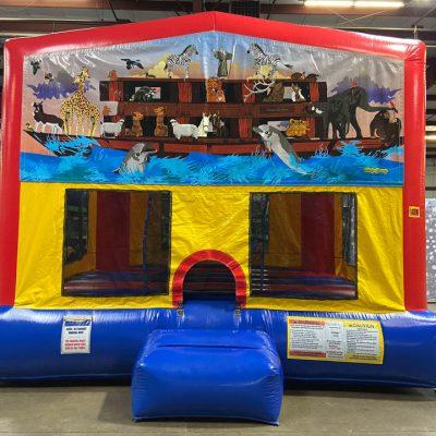 Noah's Ark Playhouse - Customize-able Inflatable Bounce House Rental Cincinnati Ohio