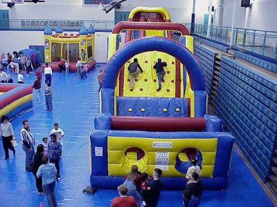 Olympic Challenge Inflatable Obstacle Course - 50' Rental Cincinnati Ohio