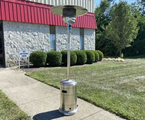 Propane Patio Heater Outside Rental Cincinnati Ohio