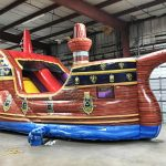 Pirate Ship 3 in 1 Inflatable bounce and Slide Combo Rental Cincinnati Ohio
