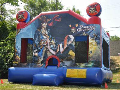 Disney's Pirate of the Caribbean Inflatable Bounce House Rental Cincinnati Ohio
