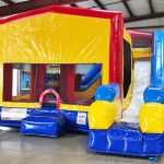 Playhouse Inflatable Bounce House and Slide Combo Rental Cincinnati Ohio