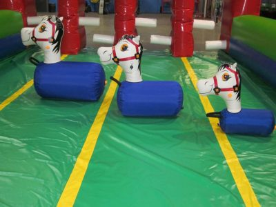 Pony Hops Inflatable Bouncing Horse Race Rental Cincinnati Ohio