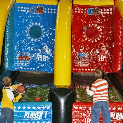 Quarterback Blitz Football Inflatable Game Rental Cincinnati Ohio