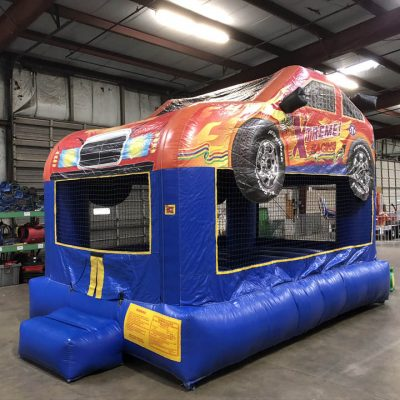 Race Car Nascar Hot Wheels Inflatable Bounce House Rental Cincinnati Ohio