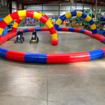 Inflatable Race Track Rental with Competition Race Karts_Cincinnati Ohio