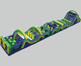 Radical Run Inflatable Obstacle Course - 95' Rental Cincinnati Ohio