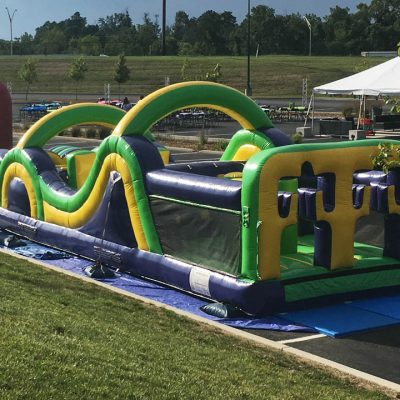 Radical Run Inflatable Obstacle Course - 35' Rental Cincinnati Ohio