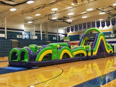 Radical Run Inflatable Obstacle Course - 60' Rental Cincinnati Ohio