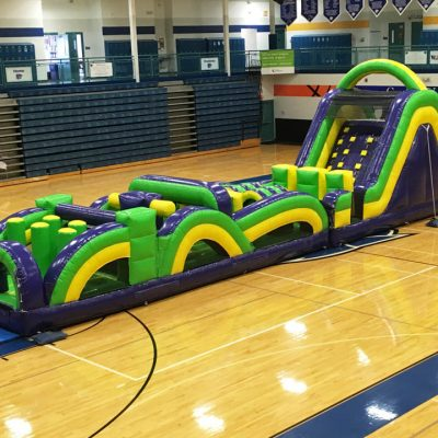 Radical Run Inflatable Obstacle Course - 60' Rental Cincinnati Ohio