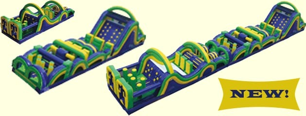 RADICAL RUN INFLATABLE OBSTACLE COURSE added to inventory!