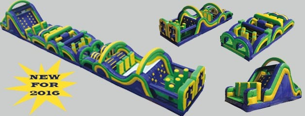 RADICAL RUN INFLATABLE OBSTACLE COURSE coming soon!