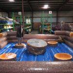 Inflatable Mechanical Ripsaw Eliminator Redneck Games Rental Cincinnati Ohio