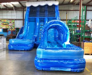 Riptide Inflatable Water Slide Dual Lane with Inflatable slip n slide rental cincinnati ohio