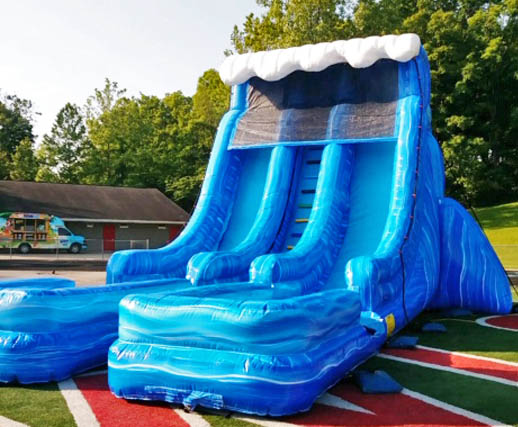 Riptide 2 0 Dual Lane Inflatable Water Slide Rental