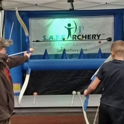 SAFE Archery Foam tipped arrows rental cincinnati ohio