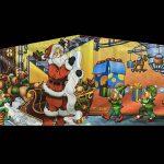 Santa Claus Playhouse - Customize-able Inflatable Bounce House Rental Cincinnati Ohio
