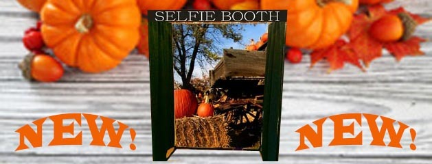 SELFIE BOOTH FALL BACKGROUND added to inventory!