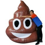 Selfie Poo Poop Emoji Inflatable Rental Cincinnati Ohio