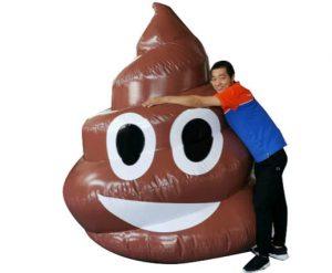 Selfie Poo Poop Emoji Inflatable Rental Cincinnati Ohio