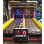Inflatable skee ball rental with scoring, Cincinnati, Ohio