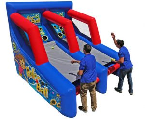 Inflatable skee ball rental arcade game, Cincinnati, Ohio