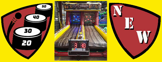 SKEE BALL 2.0 – 2 PLAYER INFLATABLE W/ SCORING added to inventory!