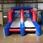 Inflatable skee ball rental arcade game, Cincinnati, Ohio