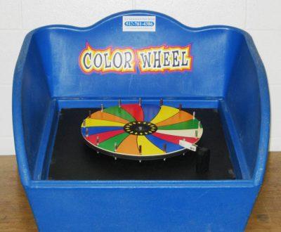 Table Top Carnival Skill Game - Color Wheel Prize Game Rental Cincinnati Ohio