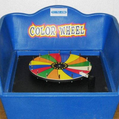 Table Top Carnival Skill Game - Color Wheel Prize Game Rental Cincinnati Ohio