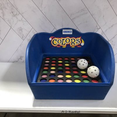 Table Top Carnival Skill Game - Colors Rental Cincinnati Ohio