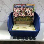 Table Top Carnival Skill Game - Feed-N-Time Bean Bag Toss Rental Cincinnati Ohio