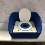 Table Top Carnival Skill Game - Toilet Seat Potty Toss Rental Cincinnati Ohio