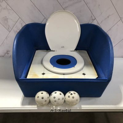 Table Top Carnival Skill Game - Toilet Seat Potty Toss Rental Cincinnati Ohio