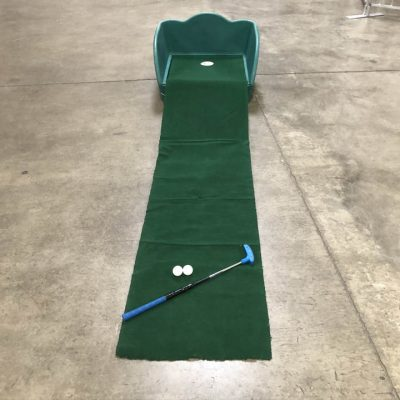 Table Top Carnival Skill Game - Putt-N-Win Mini Golf Hole Rental Cincinnati Ohio