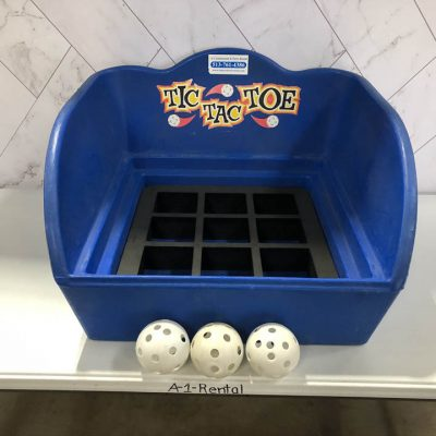 Table Top Carnival Skill Game - Tic Tac Toe 3 in A Row Rental Cincinnati Ohio