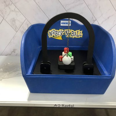Table Top Carnival Skill Game - Wreck-N-Ball Dice Game Rental Cincinnati Ohio