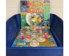 Table Top Carnival Skill Game - Fish Bowl Rental Cincinnati Ohio