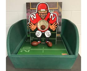Table Top Carnival Skill Game - Football Rental Cincinnati Ohio