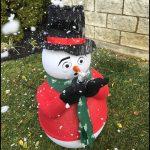 Frosty the Snowman Snow Making Machine Rental Cincinnati Ohio