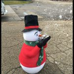Frosty the Snowman Snow Making Machine Rental Cincinnati Ohio