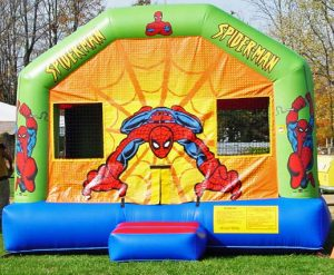 Spiderman Marvel Inflatable Bounce House Rental Cincinnati Ohio